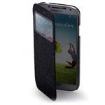 Чехол Momax Flip View для Samsung Galaxy S4 i9500 (черный, кожанный)