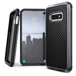 Чехол X-doria Defense Lux для Samsung Galaxy S10 lite (Black Carbon, маталлический)