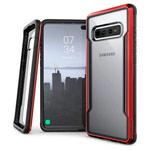 Чехол X-doria Defense Shield для Samsung Galaxy S10 plus (красный, маталлический)