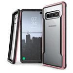 Чехол X-doria Defense Shield для Samsung Galaxy S10 plus (розово-золотистый, маталлический)