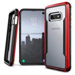Чехол X-doria Defense Shield для Samsung Galaxy S10 lite (красный, маталлический)