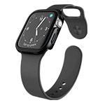Чехол X-doria Defense Edge для Apple Watch Series 4 (44 мм, черный, маталлический)