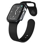 Чехол X-doria Defense Edge для Apple Watch Series 4 (44 мм, темно-серый, маталлический)