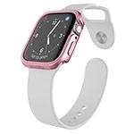Чехол X-doria Defense Edge для Apple Watch Series 4 (44 мм, розово-золотистый, маталлический)