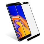 Защитное стекло Yotrix 3D Pro Glass Protector для Samsung Galaxy J4 plus (черное)