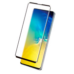 Защитное стекло Yotrix 3D Pro Glass Protector для Samsung Galaxy S10 lite (черное)