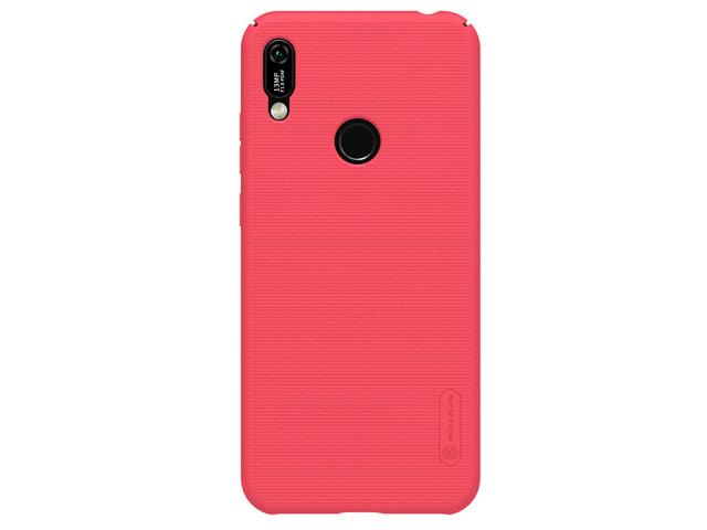 Чехол Nillkin Hard case для Huawei Y6 2019 (красный, пластиковый)