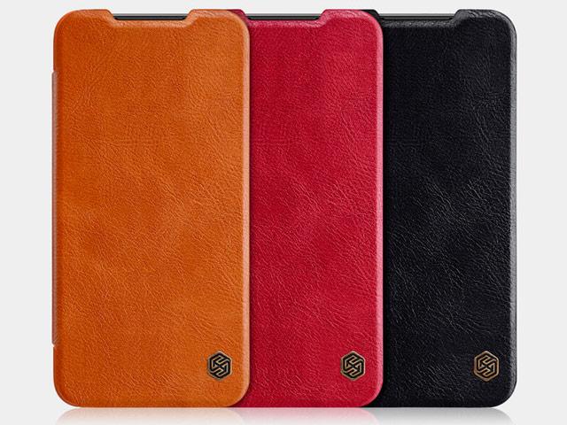 Чехол Nillkin Qin leather case для Xiaomi Mi 9 SE (черный, кожаный)