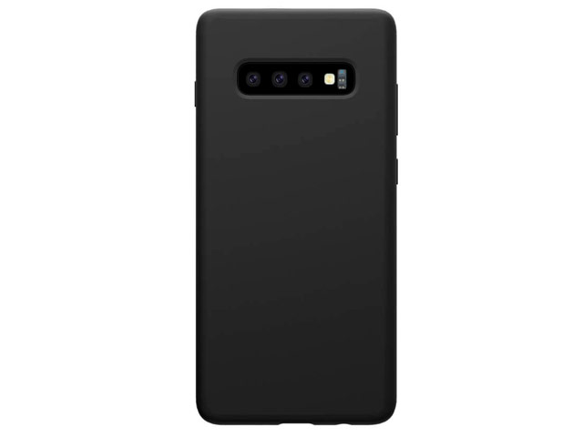 Чехол Nillkin Flex Pure case для Samsung Galaxy S10 plus (черный, гелевый)
