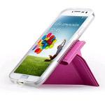 Чехол Momax The Core Smart Case для Samsung Galaxy S4 i9500 (фиолетовый, кожанный)