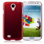Чехол Momax Ultra Tough Metallic Case для Samsung Galaxy S4 i9500 (красный, пластиковый)