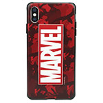 Чехол Marvel Avengers Hard case для Apple iPhone XS (Marvel Red, пластиковый)