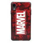 Чехол Marvel Avengers Hard case для Apple iPhone XR (Marvel Red, пластиковый)