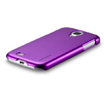 Чехол Momax Ultra Tough Metallic Case для Samsung Galaxy S4 i9500 (фиолетовый, пластиковый)