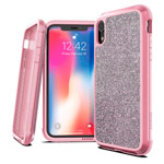Чехол X-doria Defense Lux для Apple iPhone XR (Crystal Pink, маталлический)