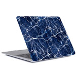Чехол Yotrix HardCover для Apple MacBook Air 13 2018 (Marble Navy, пластиковый)