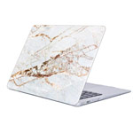Чехол Yotrix HardCover для Apple MacBook Air 13 2018 (Marble Light, пластиковый)