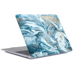 Чехол Yotrix HardCover для Apple MacBook Air 13 2018 (Diffusion Navy, пластиковый)