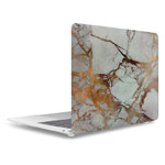 Чехол Yotrix HardCover для Apple MacBook Air 13 2018 (Marble Gold, пластиковый)