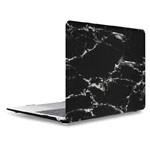 Чехол Yotrix HardCover для Apple MacBook Air 13 2018 (Marble Black, пластиковый)
