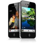 Макет Apple iPhone 4 (черный)
