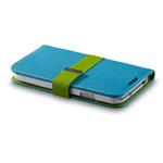 Чехол Momax Flip Diary Case для Samsung Galaxy S4 i9500 (синий, кожанный)
