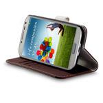 Чехол Momax Flip Diary Case для Samsung Galaxy S4 i9500 (коричневый, кожанный)