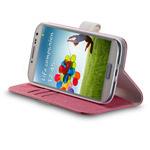 Чехол Momax Flip Diary Case для Samsung Galaxy S4 i9500 (розовый, кожанный)