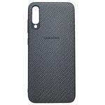 Чехол Yotrix CarbonCase для Samsung Galaxy A70 (черный, гелевый)