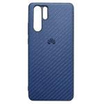 Чехол Yotrix CarbonCase для Huawei P30 pro (синий, гелевый)