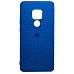 Чехол Yotrix CarbonCase для Huawei Mate 20 (синий, гелевый)