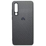 Чехол Yotrix CarbonCase для Huawei P30 (черный, гелевый)