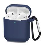 Чехол Synapse Buckle Case для Apple AirPods (темно-синий, силиконовый)