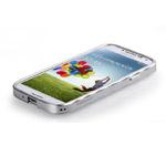 Чехол Momax Pro Frame для Samsung Galaxy S4 i9500 (серебристый, металлический)