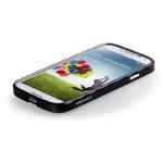 Чехол Momax Pro Frame для Samsung Galaxy S4 i9500 (черный, металлический)
