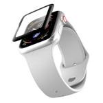 Защитное стекло Yotrix 3D Pro Glass Protector для Apple Watch 44 мм (черное)