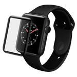 Защитное стекло Yotrix 3D Pro Glass Protector для Apple Watch 38 мм (черное)