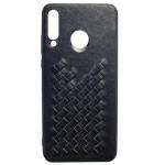 Чехол Yotrix TwistCase для Huawei P30 lite (черный, кожаный)