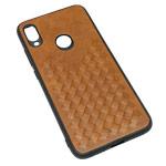 Чехол Yotrix TwistCase для Xiaomi Redmi Note 7 (коричневый, кожаный)