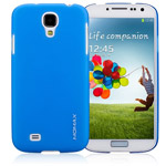 Чехол Momax Ultra Tough Clear Touch Case для Samsung Galaxy S4 i9500 (синий, пластиковый)