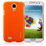 Чехол Momax Ultra Tough Clear Touch Case для Samsung Galaxy S4 i9500 (оранжевый, пластиковый)