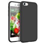 Чехол Yotrix LiquidSilicone для Apple iPhone 6S (черный, гелевый)