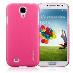 Чехол Momax Ultra Tough Clear Touch Case для Samsung Galaxy S4 i9500 (розовый, пластиковый)