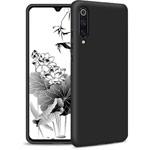 Чехол Yotrix LiquidSilicone для Xiaomi Mi 9 (черный, гелевый)