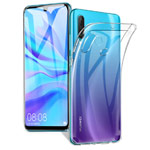 Чехол Yotrix UltrathinCase для Huawei P30 lite (прозрачный, гелевый)