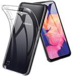Чехол Yotrix UltrathinCase для Samsung Galaxy A10 (прозрачный, гелевый)