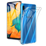 Чехол Yotrix UltrathinCase для Samsung Galaxy A30 (прозрачный, гелевый)