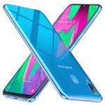 Чехол Yotrix UltrathinCase для Samsung Galaxy A40 (прозрачный, гелевый)