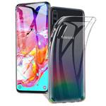 Чехол Yotrix UltrathinCase для Samsung Galaxy A70 (прозрачный, гелевый)