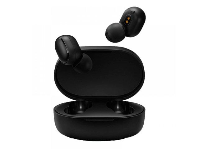 Беспроводные наушники Xiaomi Mi Earbuds Basic (черные, пульт/микрофон)